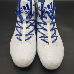 Adidas Mens Football Cleats QuickFrame White 15